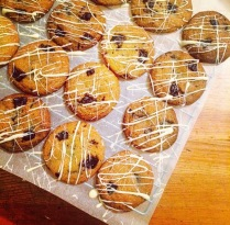 Drizzled Cookies